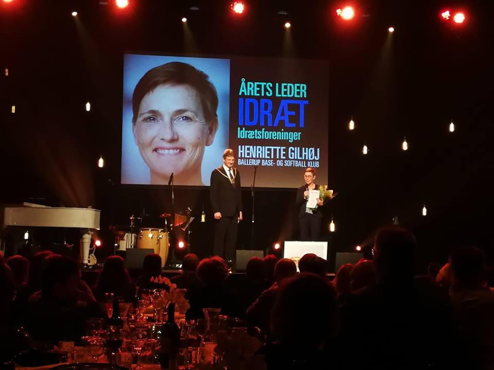 DSoF formand kåret som Årets Idrætsleder i Ballerup kommune