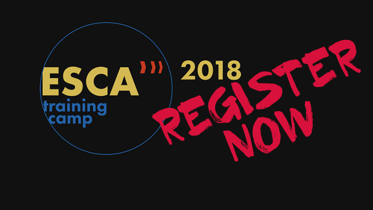 ESCA Training Camp 2018