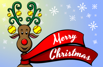 Glædelig jul fra Dansk Softball Forbund!