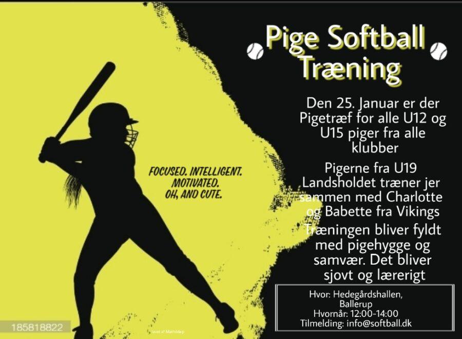 Pige Softball Træning