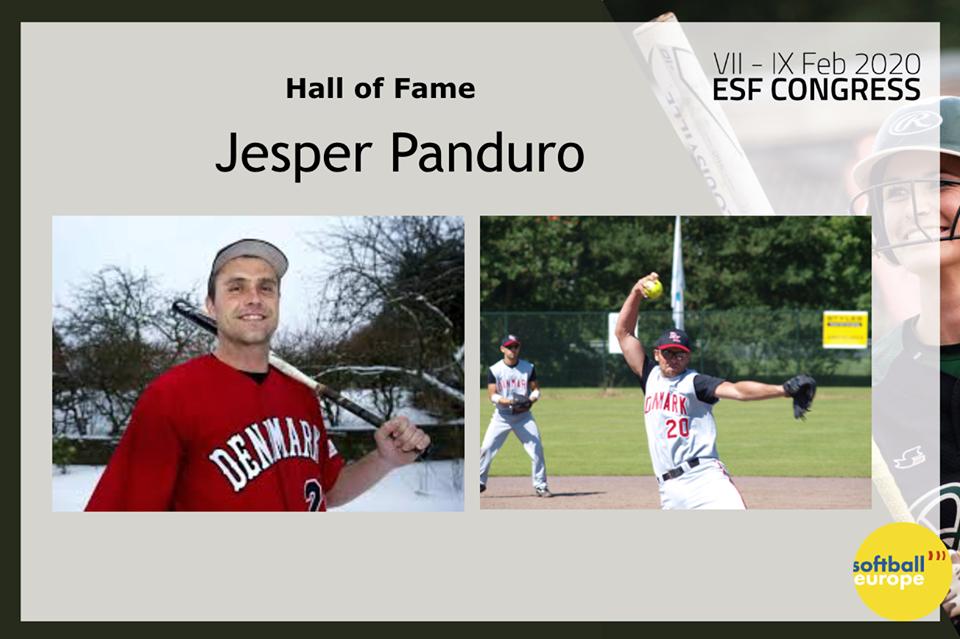 Jesper Panduro i Hall of Fame
